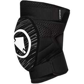 Endura SingleTrack II Ochraniacze kolan Mężczyźni, czarny/biały